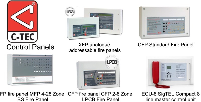 C-TEC Fire Alarm control panels supplied by CLC Fire Alarms - XFP ...