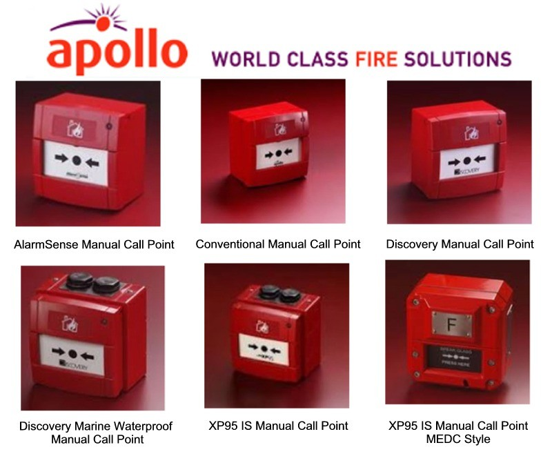 Examples Of Apollo Manual Call Points Mcps Or Break Glass Point